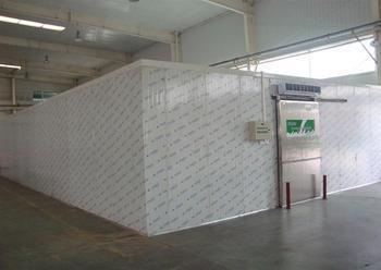 明星企业冷库安装工程案