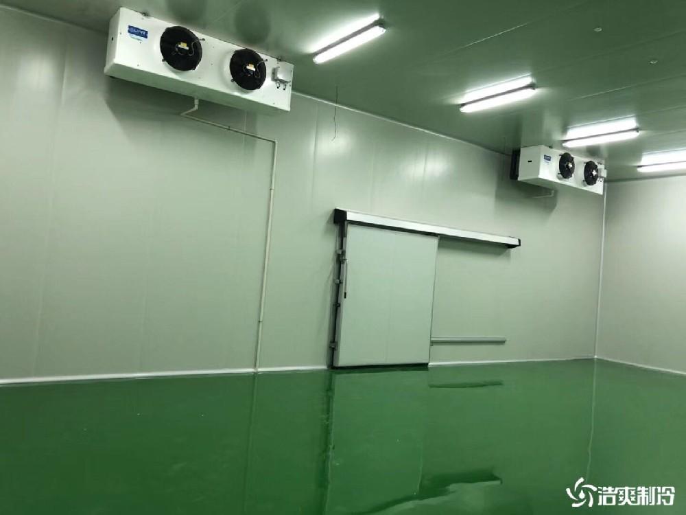 济洪蔬菜配送中心大型冷藏库工程完工