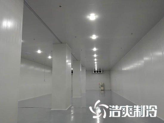 衢州蜜之源1000立方果蔬保鲜冷库工程