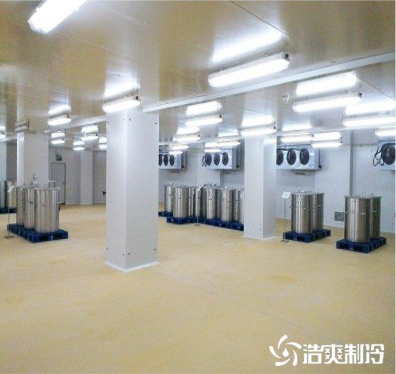 上海迈瑞尔化学防爆冷库完工