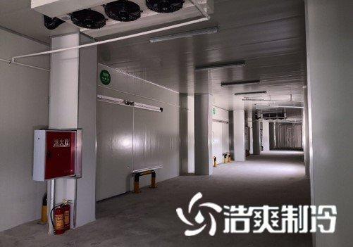 武汉蒙牛乳业保鲜冷库工程完工