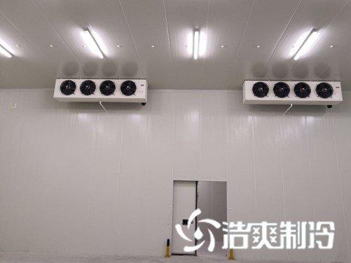 通达1500㎡农产品中心低温冷藏冷冻库新工程案例
