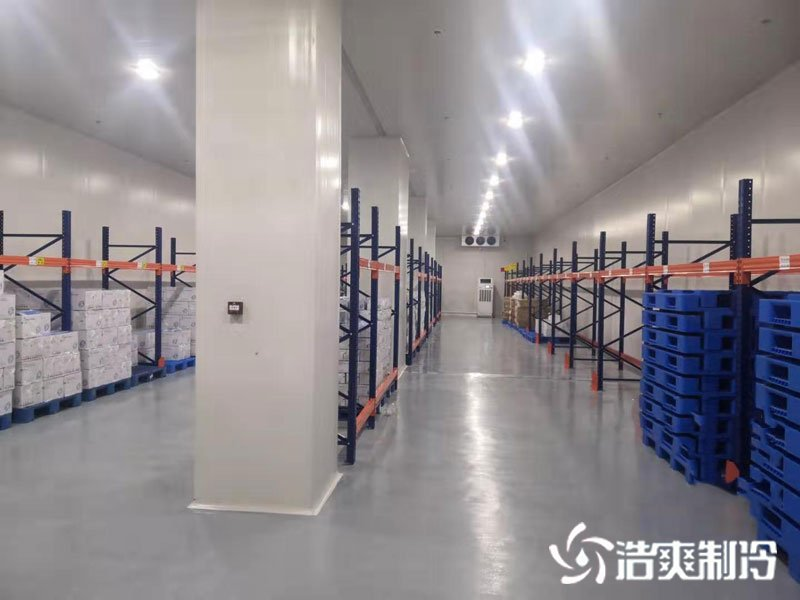 江苏味门食品有限公司0-5℃冷藏库工程案例