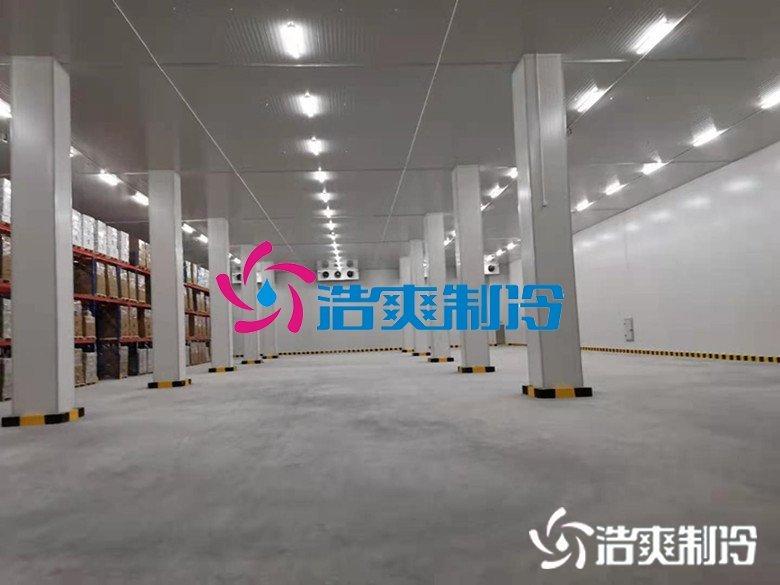 湖南宇培7150㎡冷链物流冷藏库(低温冷库)工程案例