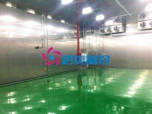 韩国LG南京600㎡新能源电池防爆冷藏库新工程案例